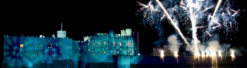 Leeds Castle - fireworks
